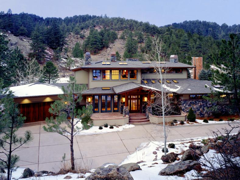 Boulder Residence - front exterior