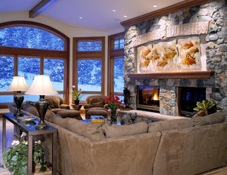 Boulder Residence - great rm