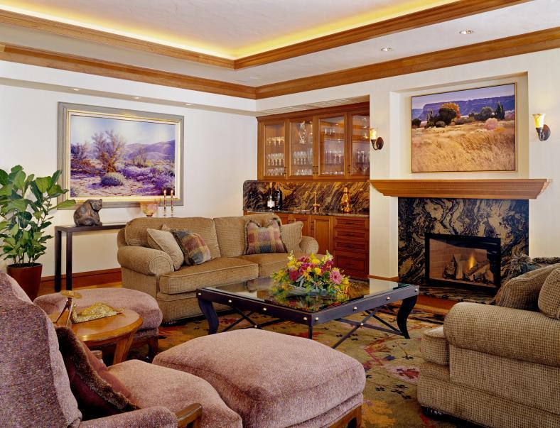 Boulder Residence - living rm