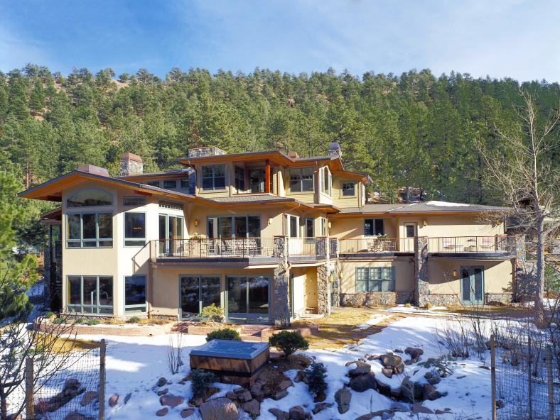 Boulder Residence - rear exterior